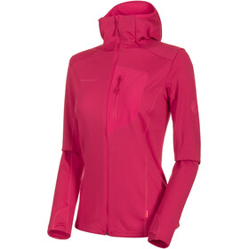 Mammut Aconcagua Light ML Kapuzenjacke Damen dragon fruit